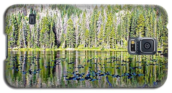 Nymph Lake And Flattop Mountain Galaxy S5 Case by Joseph Hendrix