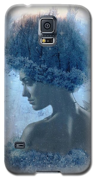 Nymph Of January Galaxy S5 Case by Lilia D