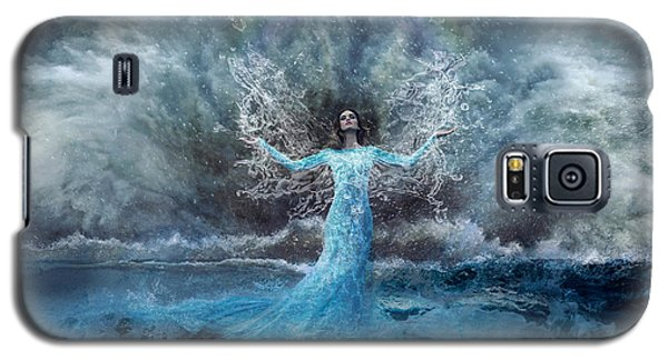 Nymph Of  The Water Galaxy S5 Case by Lilia D