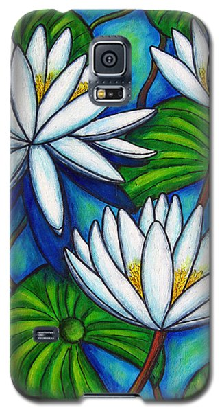 Nymphaea Blue Galaxy S5 Case