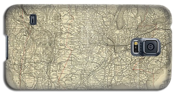 O And M Map Galaxy S5 Case