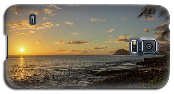 Galaxy S5 Case featuring the photograph Oahu Sunset by RKAB Works