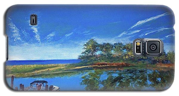 Oak Bluffs With Grady White Galaxy S5 Case