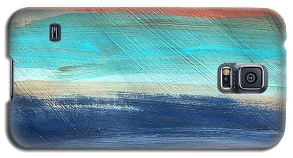 Oak Creek #27 Southwest Landscape Original Fine Art Acrylic On Canvas Galaxy S5 Case