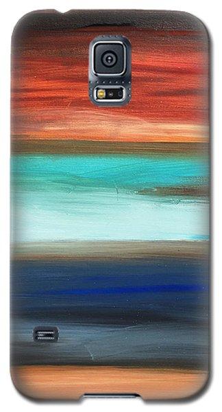 Oak Creek #28 Southwest Landscape Original Fine Art Acrylic On Canvas Galaxy S5 Case