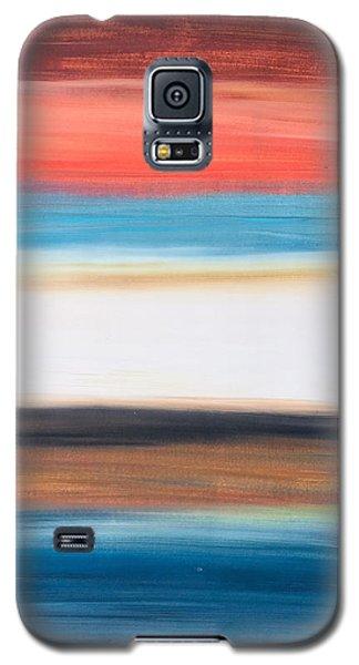 Oak Creek #29 Southwest Landscape Original Fine Art Acrylic On Canvas Galaxy S5 Case