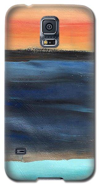 Oak Creek #31 Southwest Landscape Original Fine Art Acrylic On Canvas Galaxy S5 Case