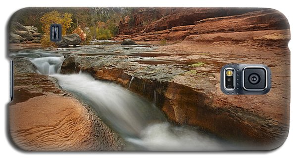 Oak Creek In Slide Rock State Park Galaxy S5 Case