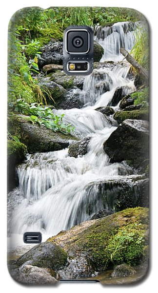 Galaxy S5 Case featuring the photograph Oasis Cascade by David Chandler