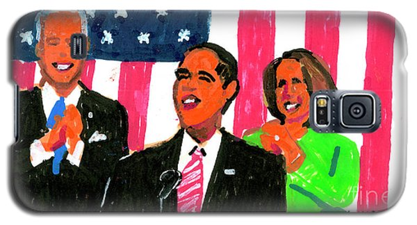 Obama's State Of The Union '10 Galaxy S5 Case by Candace Lovely
