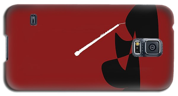 Obeo In Orange Red Galaxy S5 Case by David Bridburg