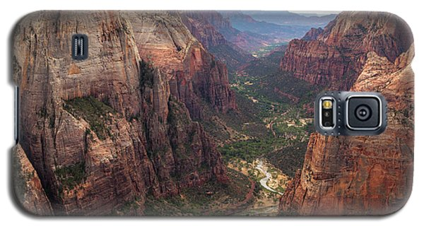 Observation Point - Zion Galaxy S5 Case