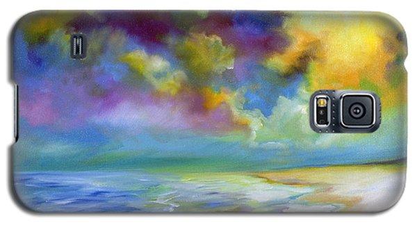 Ocean And Beach Galaxy S5 Case