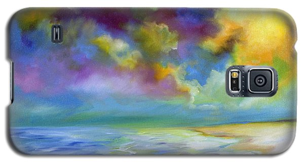 Ocean And Beach Galaxy S5 Case