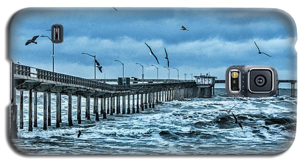 Ocean Beach Fishing Pier Galaxy S5 Case