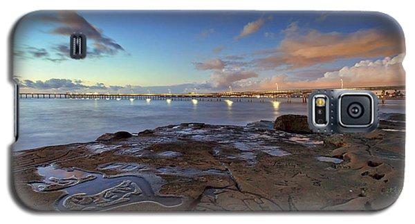 Ocean Beach Pier At Sunset, San Diego, California Galaxy S5 Case