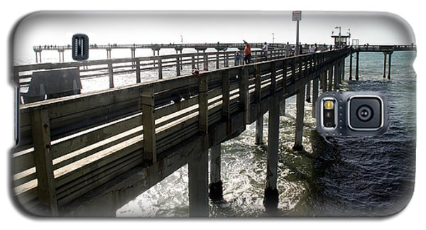 Galaxy S5 Case featuring the photograph Ocean Beach Pier by Christopher Woods