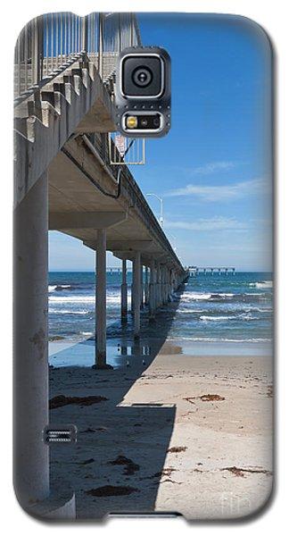 Ocean Beach Pier Stairs Galaxy S5 Case
