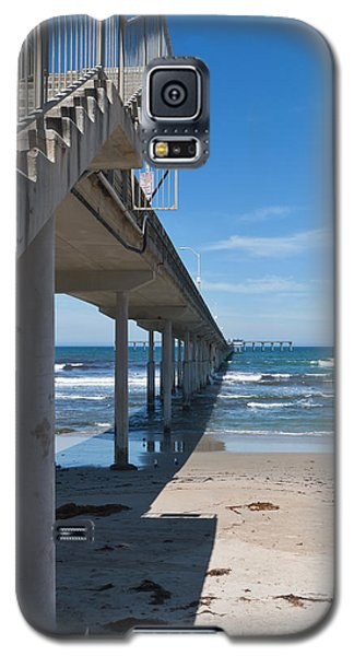 Ocean Beach Pier Stairs Galaxy S5 Case