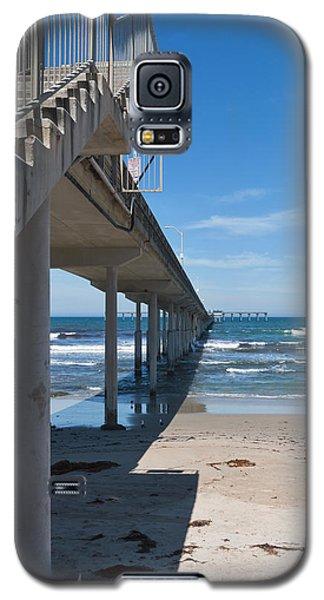 Ocean Beach Pier Stairs Galaxy S5 Case by Ana V Ramirez