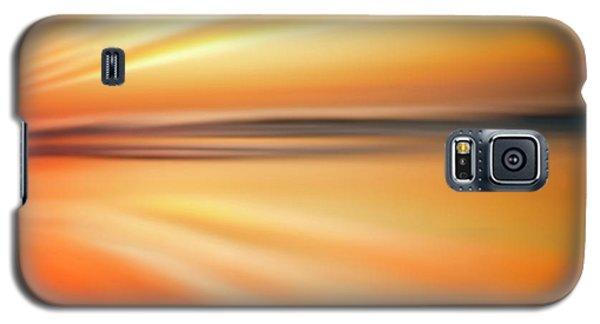 Ocean Beach Sunset Abstract Galaxy S5 Case