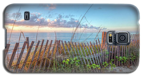 Galaxy S5 Case featuring the photograph Ocean Blues by Debra and Dave Vanderlaan