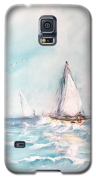 Ocean Blues Galaxy S5 Case
