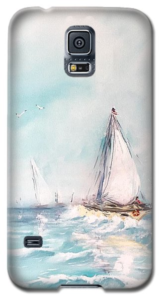 Ocean Blues Galaxy S5 Case