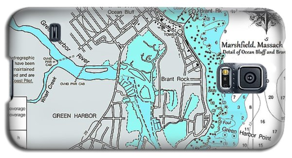 Ocean Bluff And Brant Rock Galaxy S5 Case
