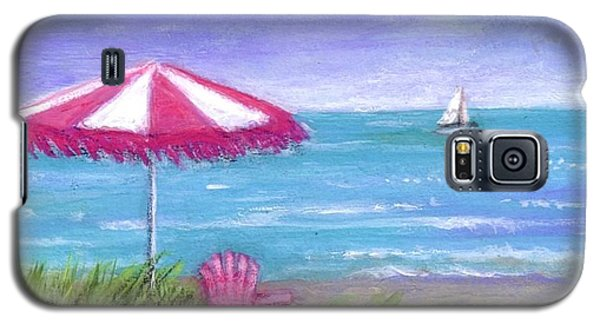 Galaxy S5 Case featuring the painting Ocean Breeze by Sandra Estes