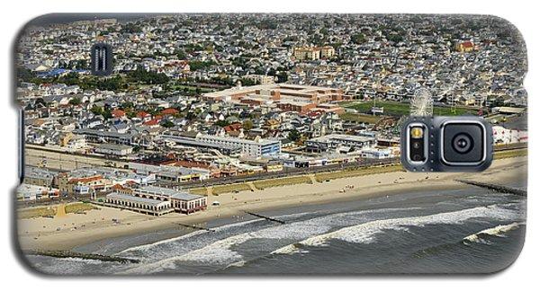 Ocean City Aerial  Galaxy S5 Case