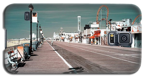 Galaxy S5 Case featuring the photograph Ocean City Boardwalk Blues by John Rizzuto