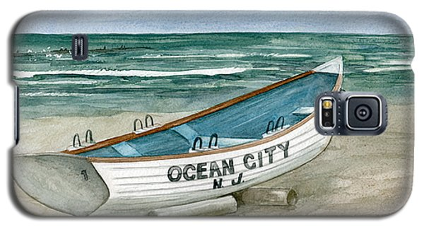 Ocean City Lifeguard Boat Galaxy S5 Case