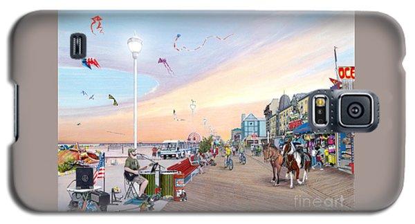 City Sunset Galaxy S5 Case - Ocean City Maryland by Albert Puskaric