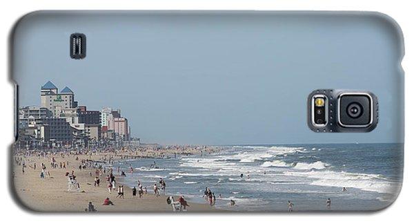 Ocean City Maryland Beach Galaxy S5 Case by Robert Banach