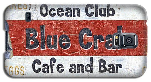 Catfish Galaxy S5 Case - Ocean Club Cafe by Debbie DeWitt
