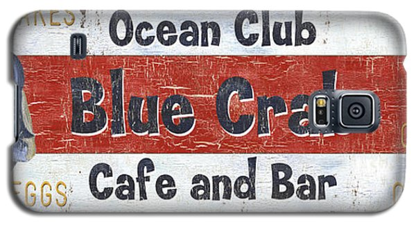 Ocean Club Cafe Galaxy S5 Case