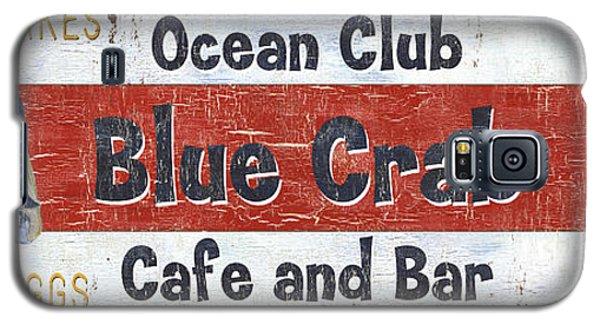 Ocean Club Cafe Galaxy S5 Case by Debbie DeWitt