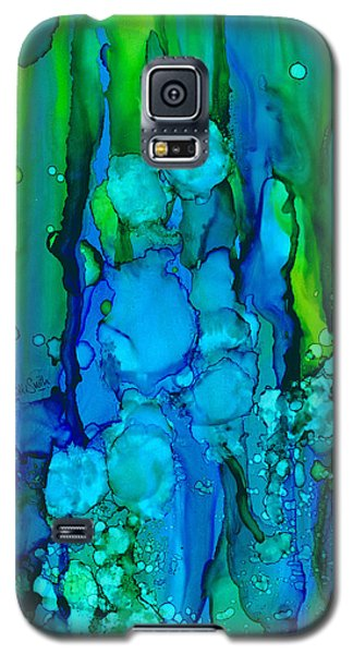 Galaxy S5 Case featuring the painting Ocean Depths by Nikki Marie Smith