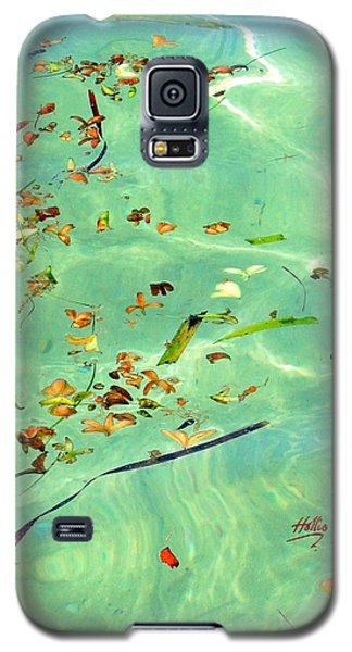 Ocean Flowers Galaxy S5 Case
