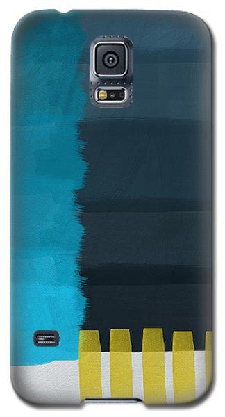 Ocean Front Walk- Art By Linda Woods Galaxy S5 Case by Linda Woods