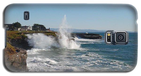 Ocean Geyser Galaxy S5 Case by Garnett  Jaeger