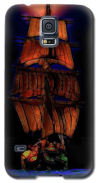 Ocean Glow Galaxy S5 Case