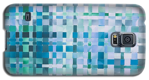 Galaxy S5 Case featuring the mixed media Ocean by Jan Bickerton