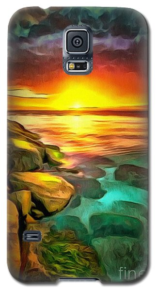 Ocean Lit In Ambiance Galaxy S5 Case