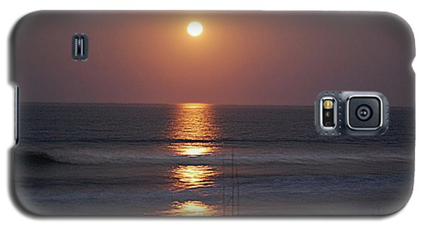 Ocean Moon In Pastels Galaxy S5 Case by DigiArt Diaries by Vicky B Fuller