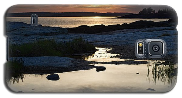 Ocean Point Sunset In East Boothbay Maine  -23091-23093 Galaxy S5 Case