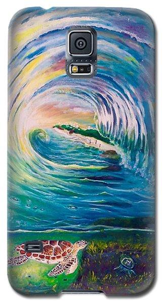 Ocean Reef Beach Galaxy S5 Case by Dawn Harrell