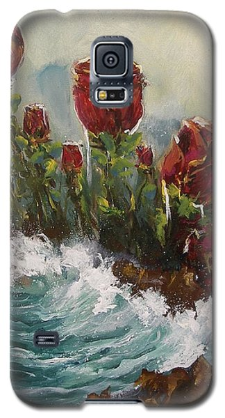 Ocean Rose Galaxy S5 Case