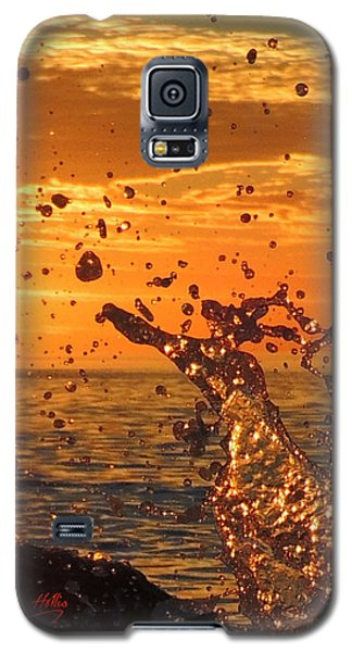 Ocean Splash Galaxy S5 Case